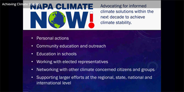 Video-how to reach climate stability